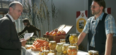 At the 'Nature and Health' Fair in Ljubljana (October 2005)